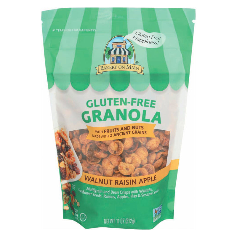 Bakery On Main Gluten Free Granola - Apple Raisin Walnut - Case of 6 - 12 oz.