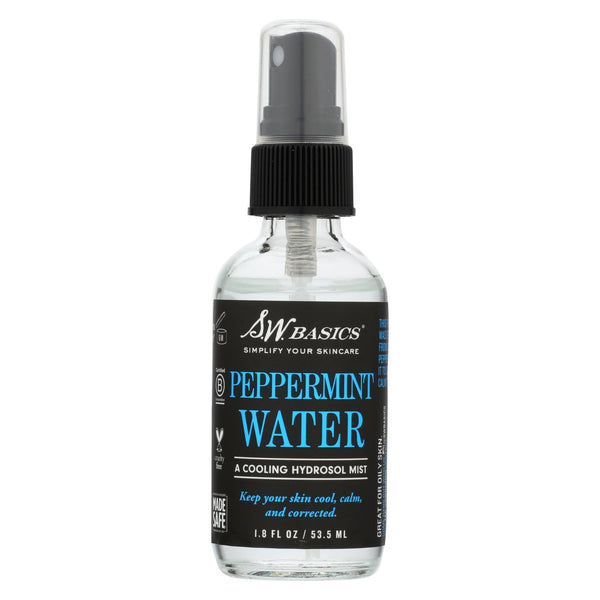 S.W. Basics - Peppermint Water - 1.8 fl oz.