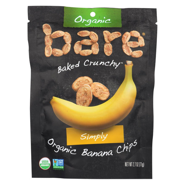 Bare Fruit Banana Chips - Original - Case of 12 - 2.7 oz.