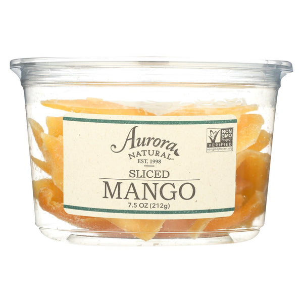 Aurora Natural Products - Sliced Mango - Case of 12 - 7.5 oz.