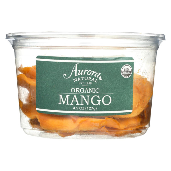 Aurora Natural Products - Organic Mango - Case of 12 - 4.5 oz.