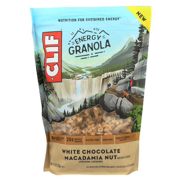 Clif Bar Energy Granola - White Chocolate Macadamia Nut - Case of 6 - 10 oz.