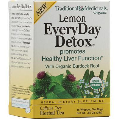 Traditional Medicinals Everyday Organic Lemon Detox (6x16 Bag)