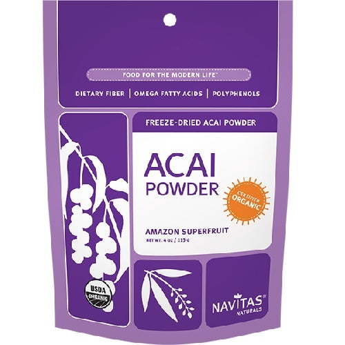 Navitas Naturals Organic Acai Powder Freeze Dried  (12x4 OZ)