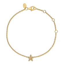 Load inn bildet i Galleriviseren Forget-Me-Not diamant bracelet - solid gold