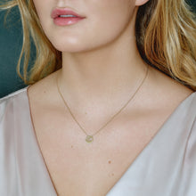Load inn bildet i Galleriviseren Fine - Beautiful World necklace - soild gold