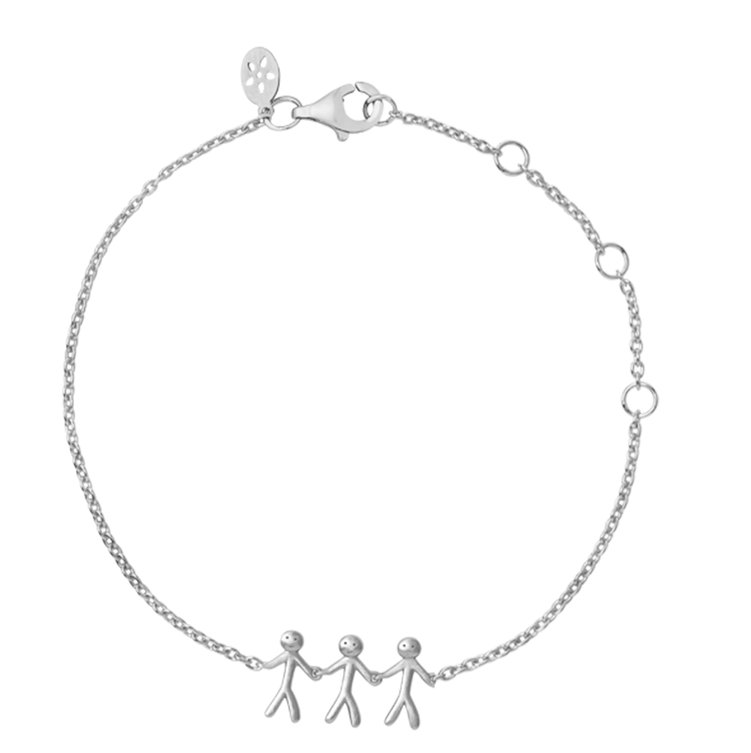 Together Family 3 bracelet - silver