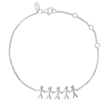 Load inn bildet i Galleriviseren Together Family 5 bracelet - silver