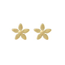 Load image into Gallery viewer, Forget-me-not earring - gold