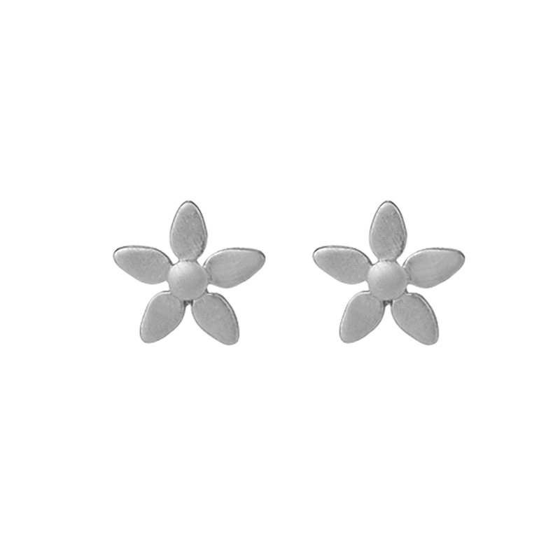 Forget-me-not earring - silver