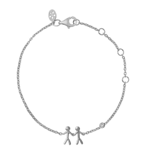 Load inn bildet i Galleriviseren Together My Love armbånd - silver