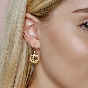 Beautiful World earring - gold