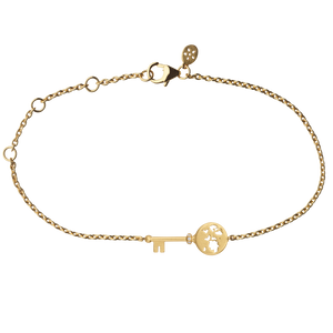 Unlock Adventures bracelet - gold
