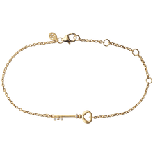 Load image into Gallery viewer, Unlock Love bracelet - gold