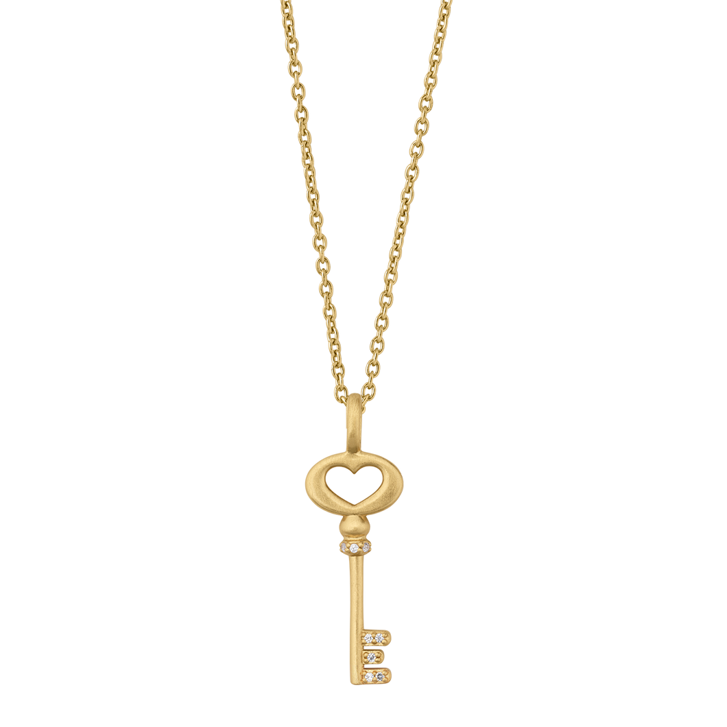 Unlock Love halskjede - gold