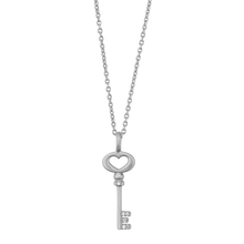 Load image into Gallery viewer, Unlock Love necklace - silver