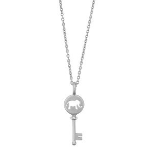 Unlock your Strength pendant - silver