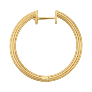 Isla hoops large - gold