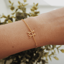 Load inn bildet i Galleriviseren Fine - My Love  bracelet - solid gold