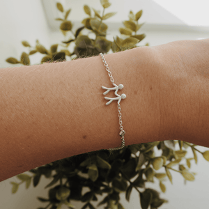 Together My Love armbånd - silver