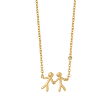 Indlæs billede til gallerivisning Fine - My Love necklace - solid gold