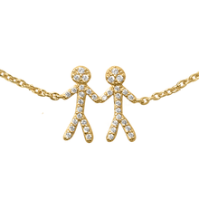 Load inn bildet i Galleriviseren Together You & Me armbånd - gold