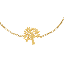 Load image into Gallery viewer, Tree of Life bracelet - gold