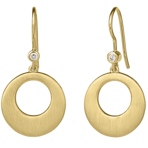 Halo earring - gold