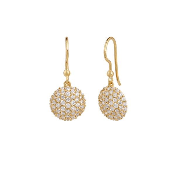 Mini sparkle earring - gold