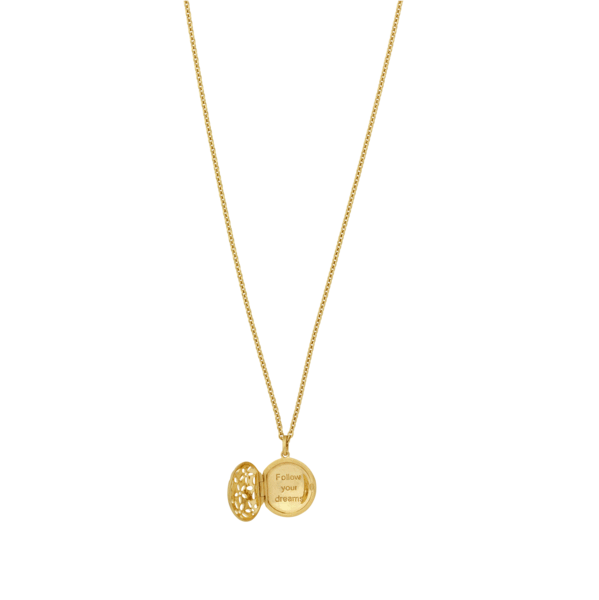 Power necklace - gold