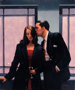 Jack Vettriano | Contemplation Of Betrayal