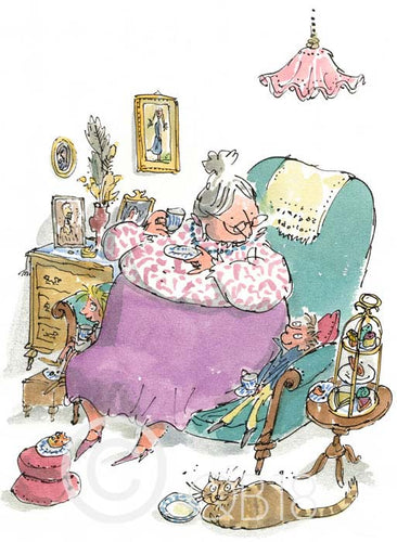 Sir Quentin Blake | G is for Grandma