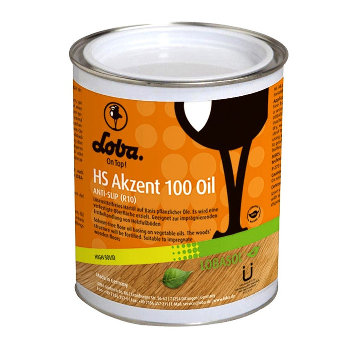 Lobasol HS Akzent 100 Oil Color Black 0,75 L