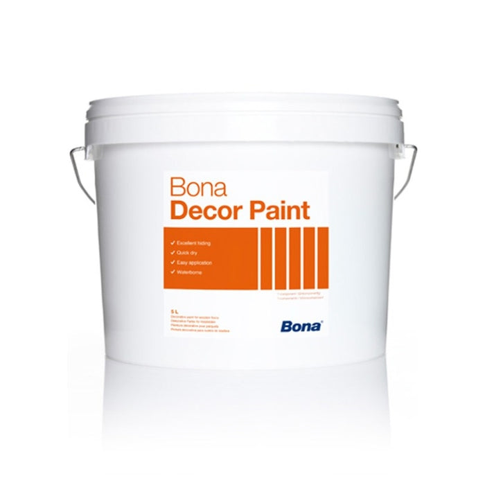 Bona Decor Paint, Dark Grey, ML, 5L
