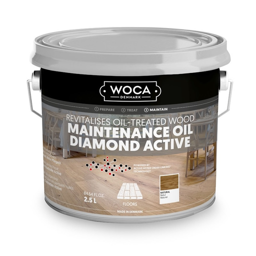 WOCA Diamond Active Onderhoudsolie Naturel 5 L
