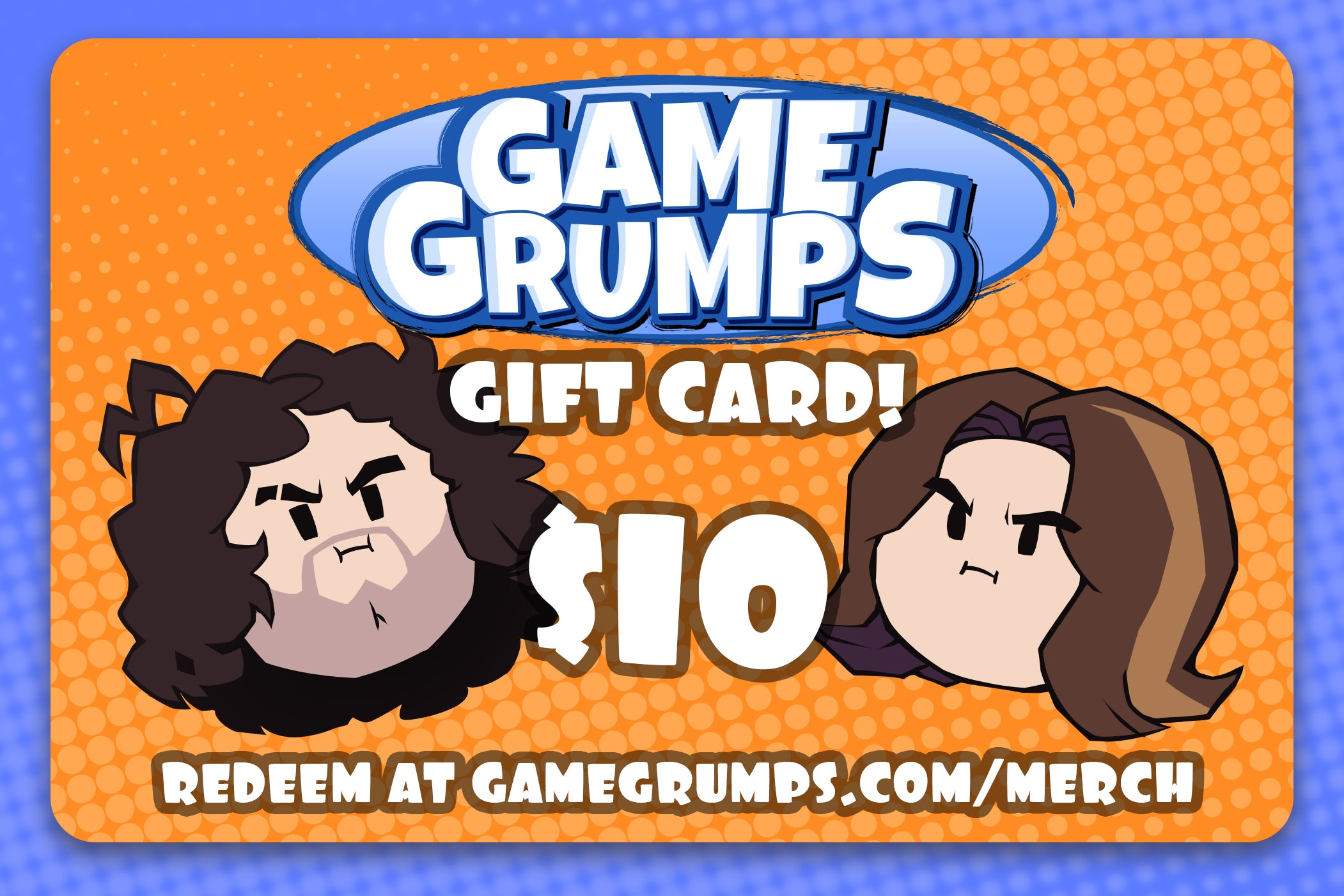 Game Grumps Gift Card