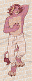 Arin Furry Dakimakura Body Pillow