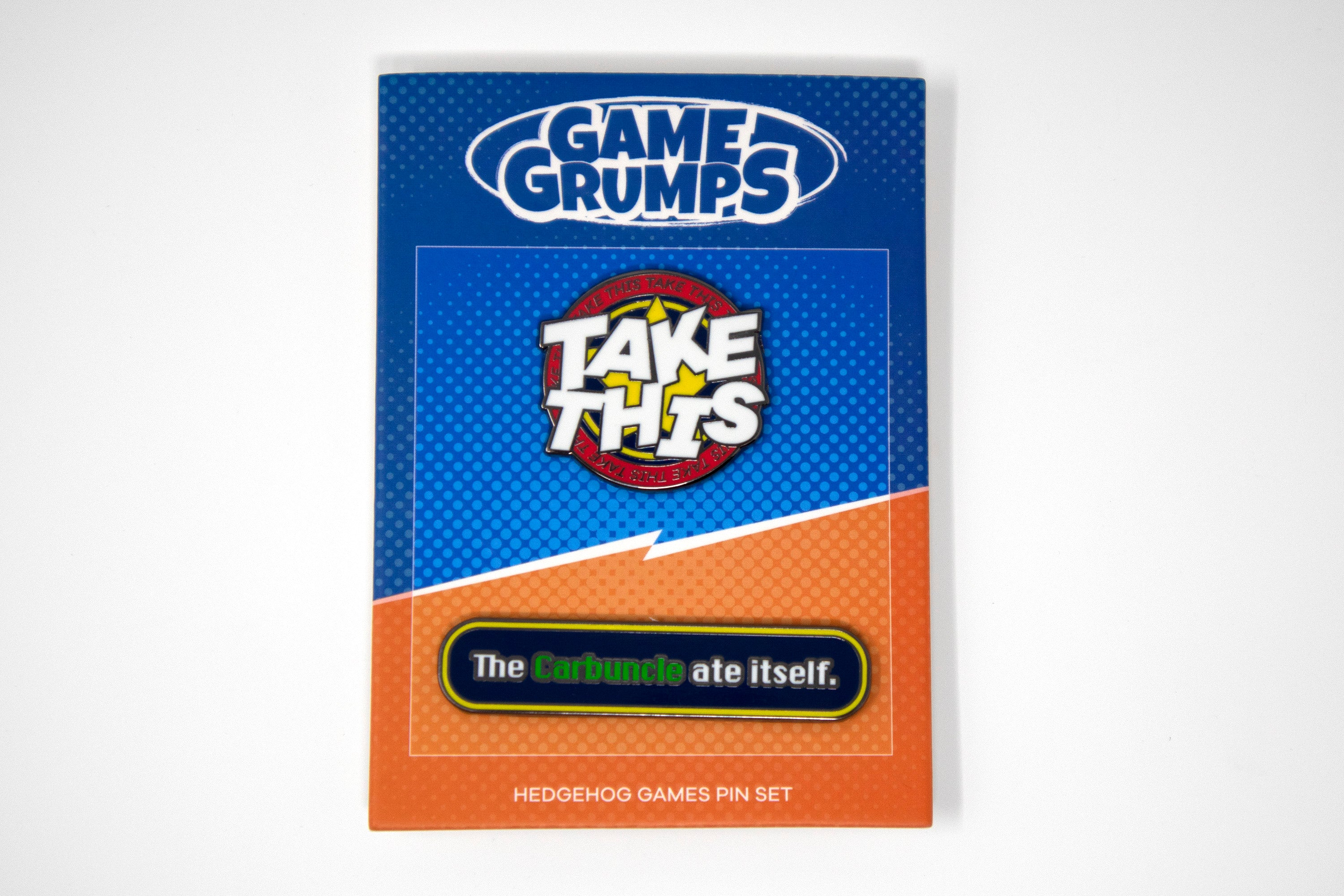 Game Grumps - Hedgehog Games Pin Set