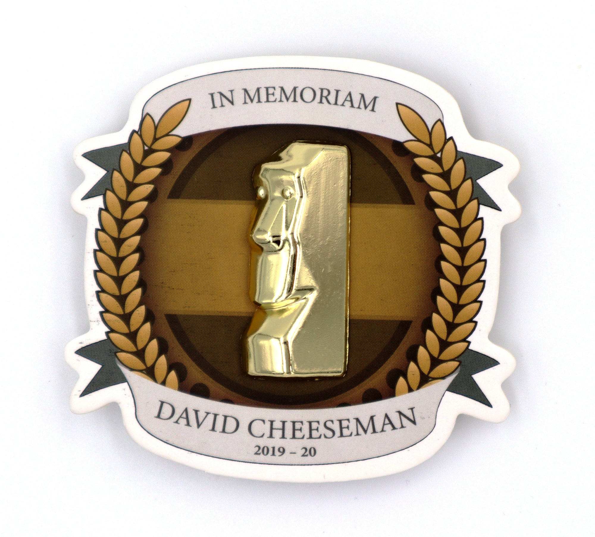 Cheeseman Memorial Pin - Limited Edition