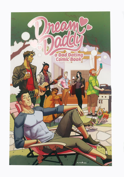 Dream Daddy - a Dad Dating Comic Book SIGNED