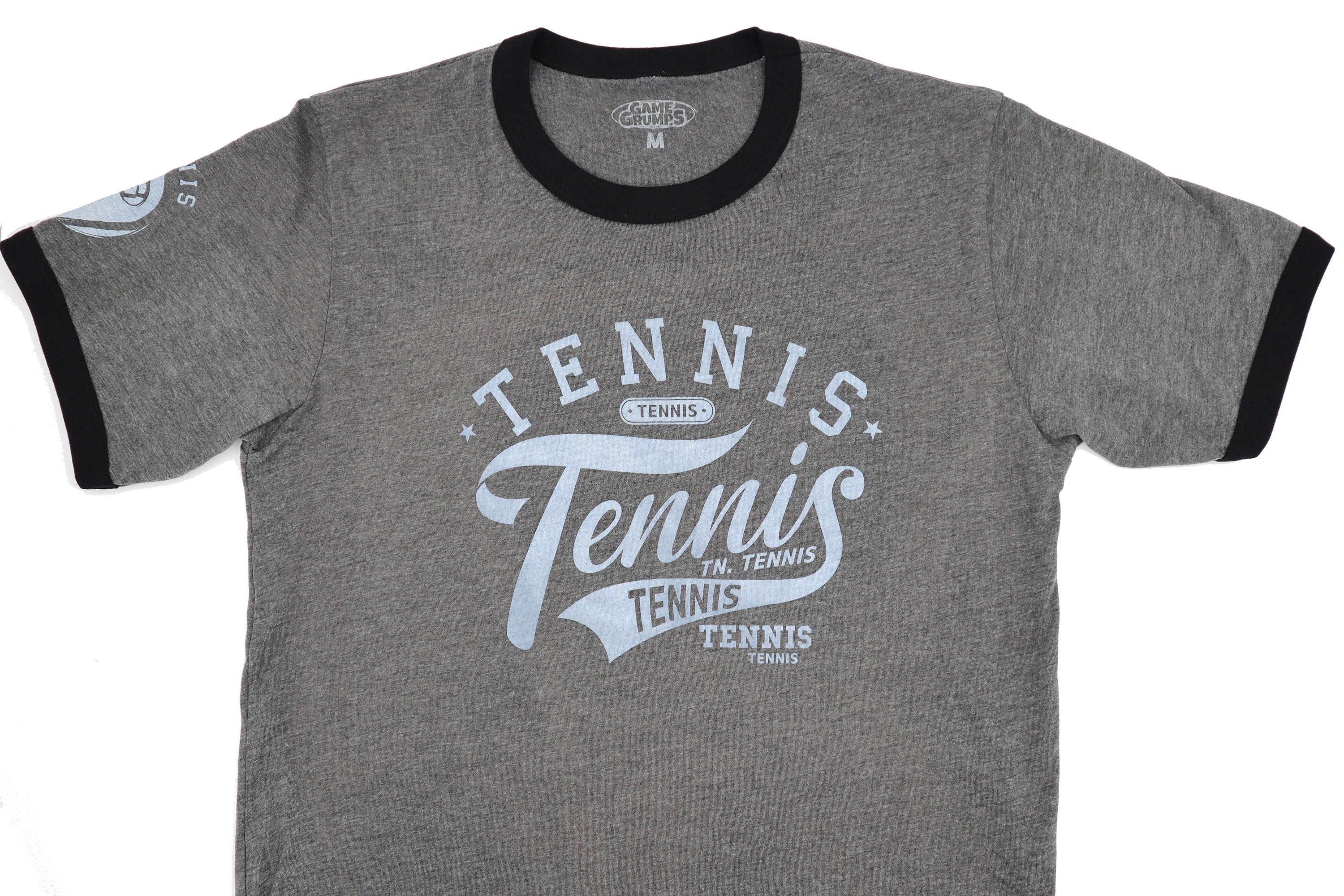 "Game Grumps ""Tennis"" Unisex Ringer Tee"