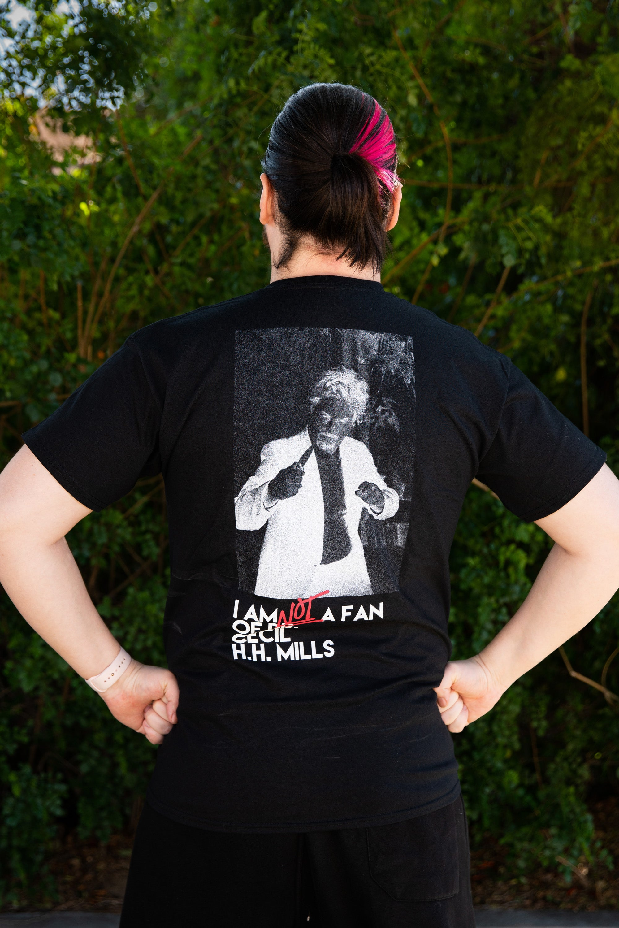 "Ghost Hunters Adventure Club - ""I Am NOT A Fan of Dr. Cecil H. H. Mills"" Unisex Pocket Tee"
