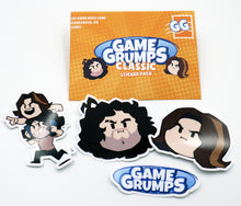 Load image into Gallery viewer, Game Grumps - Classic Sticker Set
