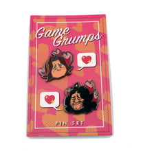 Load image into Gallery viewer, Limited Edition Game Grumps Valentine Pin Set!