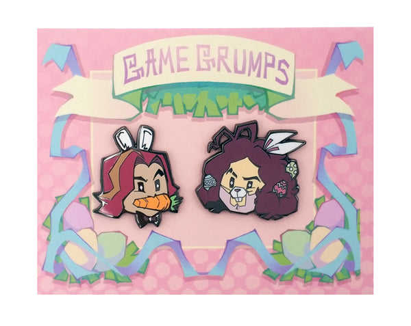 Game Grumps - Limited Edition Spring Pin Set