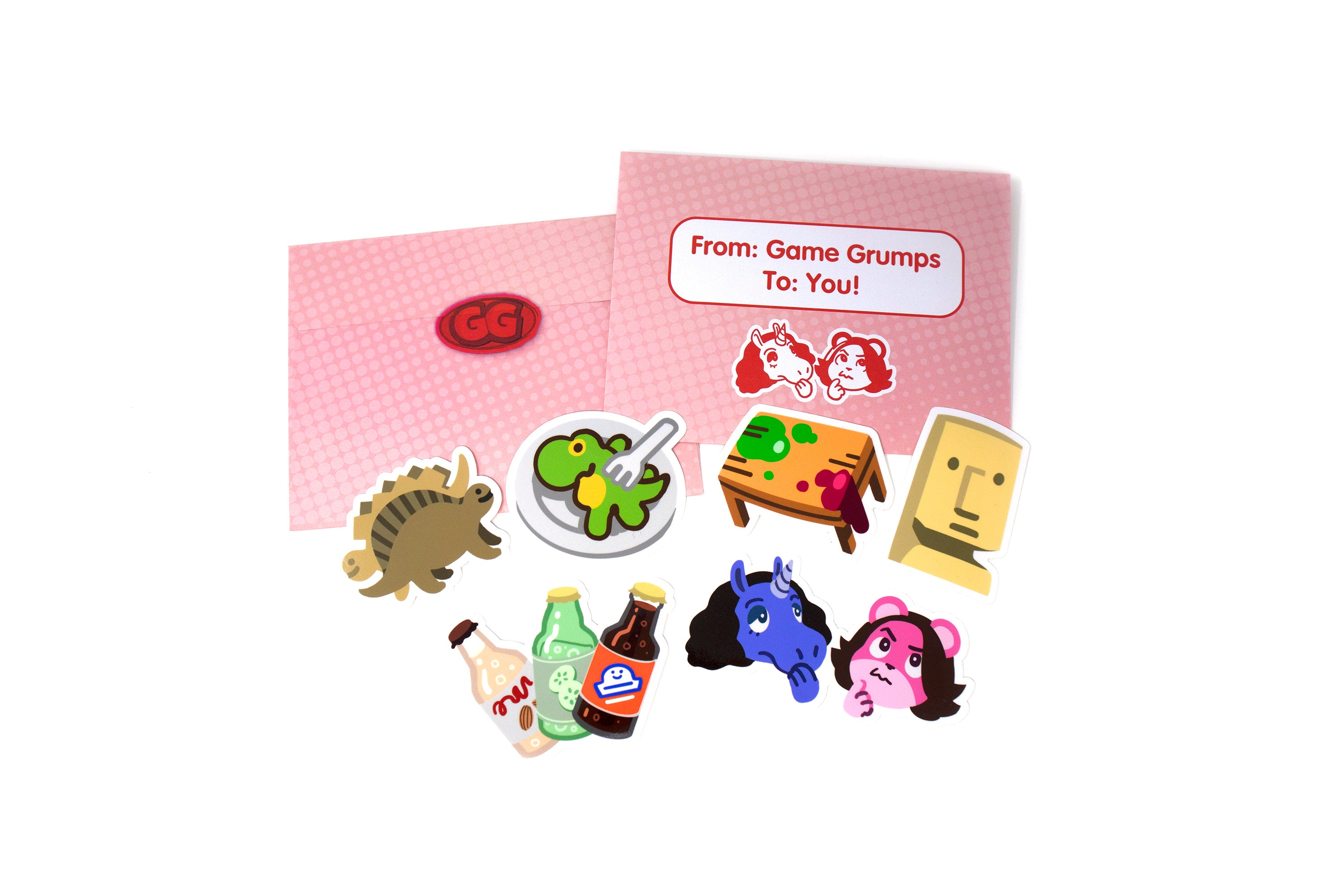 Game Grumps Villagers Sticker Set