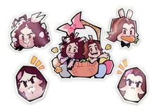 Load image into Gallery viewer, Game Grumps - Limited Edition Spring 5 Piece Sticker Set