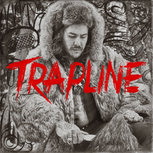 "Trapline 12"" LP - Blood Red Double Vinyl SIGNED (Limited Edition)"