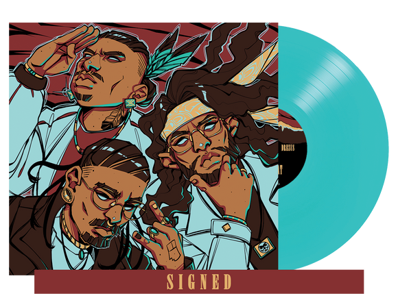 WHERE THEY AT LIMITED EDITION VINYL (TURQUOISE) SIGNED