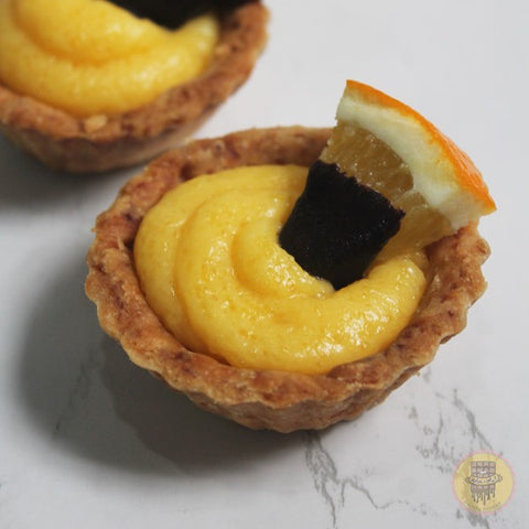 MALTA ORANGE CURD TART ( SEASONAL)